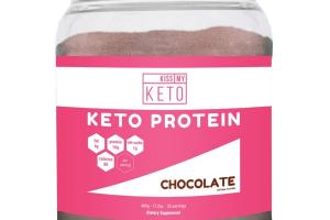 KETO PROTEIN DIETARY SUPPLEMENT, CHOCOLATE
