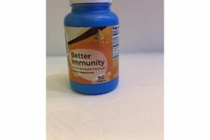 BETTER IMMUNITY IMMUNE HEALTH FORMULA DIETARY SUPPLEMENT TABLETS