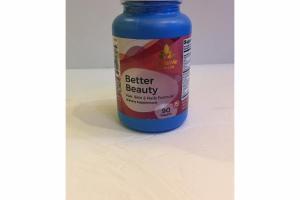 BETTER BEAUTY HAIR, SKIN & NAILS FORMULA TABLETS DIETARY SUPPLEMENT
