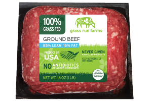 100% GRASS FED GROUND BEEF
