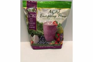 ACAI, KALE, STRAWBERRY, APPLE, BLUEBERRY FRUIT & VEGGIE BLENDERS