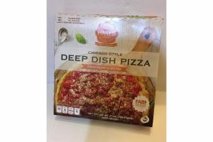 PREMIUM CHEESE CHICAGO-STYLE DEEP DISH PIZZA