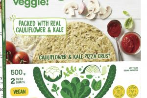 CAULIFLOWER & KALE PIZZA CRUST