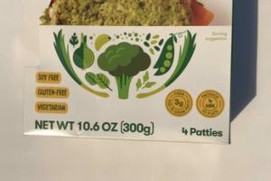 HERBY GARLIC GREENS VEGGIE-FULL PATTIES