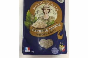 WHOLE GRAIN EXPRESS QUINOA