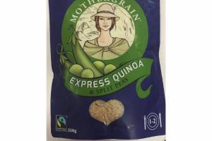 EXPRESS QUINOA & SPLIT PEAS