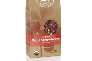 ORGANIC WILD STRAWBERRY FRUIT TEA
