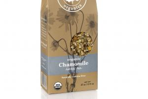 NATURALLY CAFFEINE FREE ORGANIC CHAMOMILE HERBAL TEA