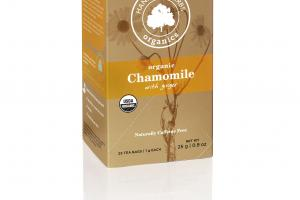 CHAMOMILE WITH GINGER
