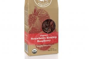 ORGANIC STRAWBERRY ROSEHIP RASPBERRY TEA