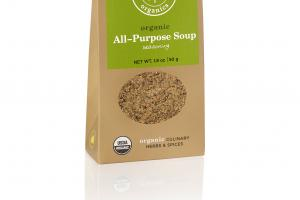 ALL-PURPOSE SOUP SEASONING ORGANIC CULINARY HERBS & SPICES