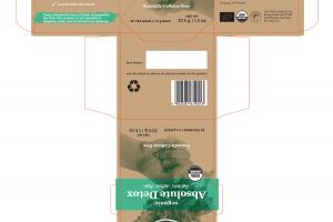 NATURALLY CAFFEINE FREE ORGANIC ABSOLUTE DETOX HERBAL TEA