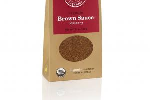ORGANIC BROWN SAUCE SEASONING CULINARY HERBS & SPICES