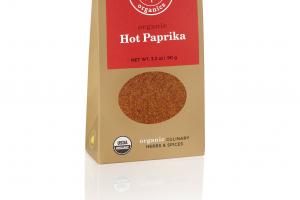 HOT PAPRIKA ORGANIC CULINARY HERBS & SPICES