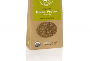 HERBAL PEPPER ORGANIC CULINARY HERBS & SPICES SEASONING