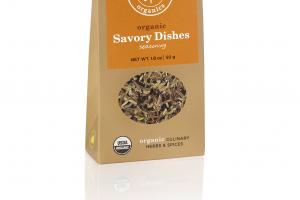 ORGANIC SAVORY DISHES SEASONING CULINARY HERBS & SPICES