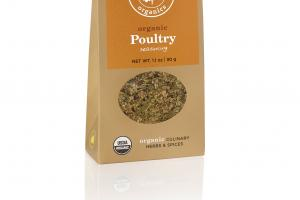 POULTRY SEASONING ORGANIC CULINARY HERBS & SPICES