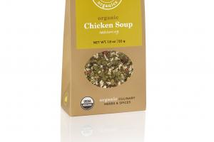 ORGANIC CHICKEN SOUP SEASONING CULINARY HERBS & SPICES