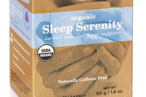 ORGANIC SLEEP SERENITY HERBAL TEA FOR SLEEP SUPPORT