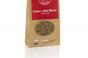 ORGANIC CULINARY HERBS & SPICES GAME & RED MEATS SEASONING