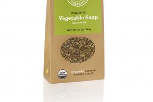 ORGANIC VEGETABLE SOUP SEASONING CULINARY HERBS & SPICES