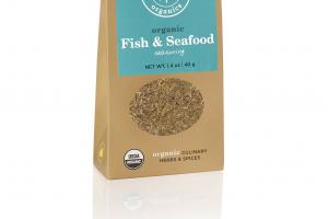 ORGANIC FISH & SEAFOOD SEASONING ORGANIC CULINARY HERBS & SPICES