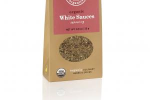 ORGANIC WHITE SAUCES SEASONING CULINARY HERBS & SPICES