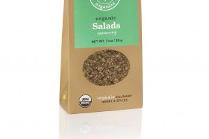 SALADS SEASONING ORGANIC CULINARY HERBS & SPICES