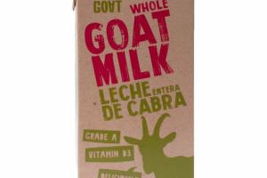 WHOLE GOAT MILK