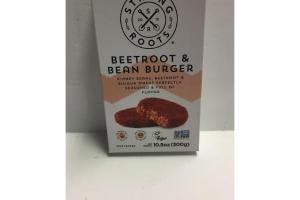 BEETROOT & BEAN BURGER