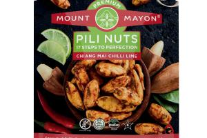 CHIANG MAI CHILI LIME SPROUTED & SLODRY SPICY PILI NUTS WITH LEMONGRASS & LIME