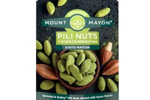 KYOTO MATCHA SPROUTED & SLODRY PILI NUTS DUSTED WITH KYOTO MATCHA