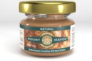 PREMIUM DELICIOUSLY CRUNCHY PILI NUT BUTTER