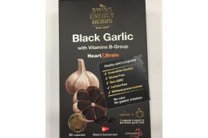 BLACK GARLIC WITH VITAMINS B-GROUP HEART&BRAIN CAPSULES