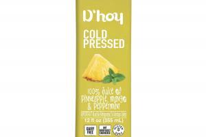 COLD PRESSED 100% JUICE OF PINNEAPPLE, MANGO & PEPPERMINT