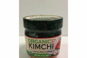 KOREAN NAPA CABBAGE ORGANIC KIMCHI
