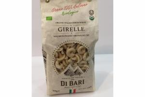 GIRELLE ORGANIC ITALIAN DURUM WHEAT MACARONI PRODUCT BRONZE DIE CUT