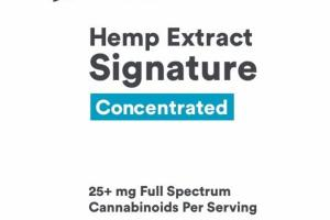 CONCENTRATED HEMP EXTRACT 25+ MG SIGNATURE DIETARY SUPPLEMENT