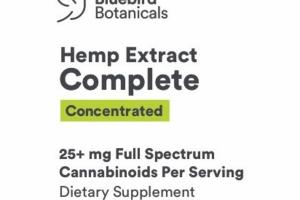 HEMP EXTRACT COMPLETE CONCENTRATED DIETARY SUPPLEMENT