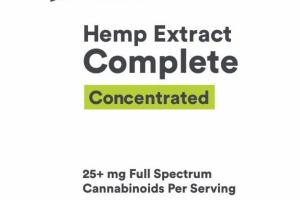 CONCENTRATED HEMP EXTRACT 25+ MG COMPLETE DIETARY SUPPLEMENT