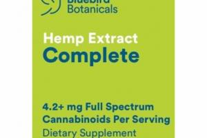 HEMP EXTRACT COMPLETE DIETARY SUPPLEMENT
