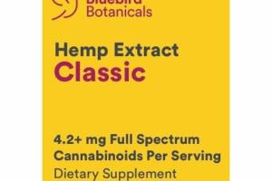 CLASSIC HEMP EXTRACT DIETARY SUPPLEMENT