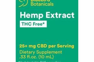 HEMP EXTRACT THC FREE DIETARY SUPPLEMENT