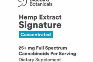 HEMP EXTRACT SIGNATURE CONCENTRATED DIETARY SUPPLEMENT