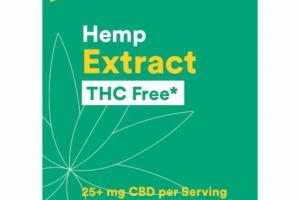 HEMP EXTRACT DIETARY SUPPLEMENT
