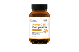 CONCENTRATED HEMP CBD 15+ MG COMPANION SOFT GELS PET SUPPLEMENT SOFT GELS