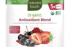 INDIVIDUALLY QUICK FROZEN SLICED STRAWBERRIES, BLUEBERRIES, DARK SWEET CHERRIES, BLACKBERRIES & POMEGRANATE ARILS