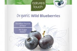 ORGANIC WILD BLUEBERRIES