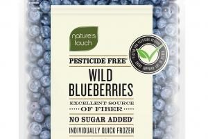 INDIVIDUALLY QUICK FROZEN WILD BLUEBERRIES