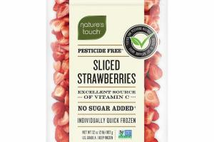 INDIVIDUALLY QUICK FROZEN PESTICIDE FREE SLICED STRAWBERRIES